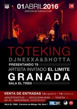 """Toteking presenta """"78"""" en Granada"""