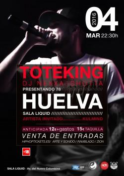 "Toteking presenta ""78"" en Huelva"
