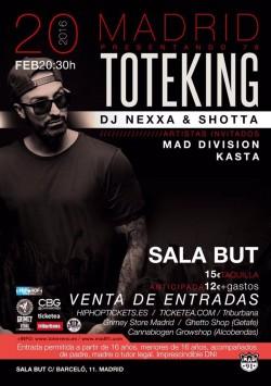 """Toteking presenta """"78"""" en Madrid"""