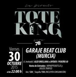 """Toteking presenta """"78"""" en Murcia"""