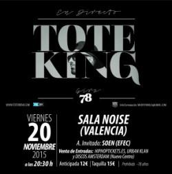 """Toteking presenta """"78"""" en Valencia"""