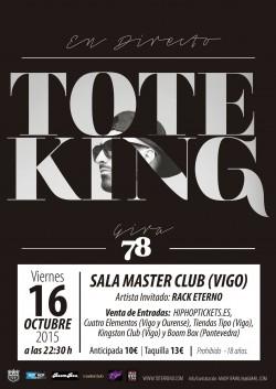"""Toteking presenta """"78"""" en Vigo"""