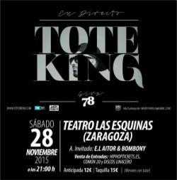 """Toteking presenta """"78"""" en Zaragoza"""