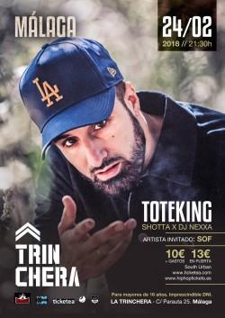 "Toteking presenta ""Lebron"" en Málaga"