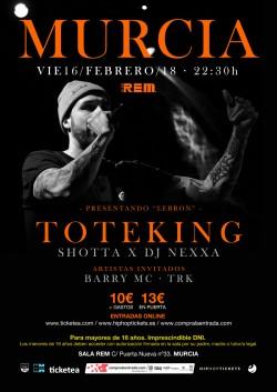 """Toteking presenta """"Lebron"""" en Murcia"""