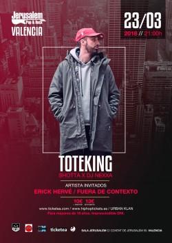 "Toteking presenta ""Lebron"" en Valencia"
