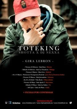 "Toteking presenta ""Lebron"" en Vic"