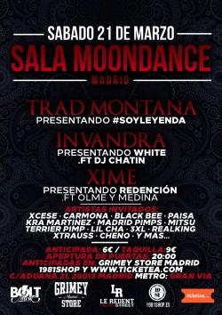 Trad Montana, Invandra y Xime en Madrid