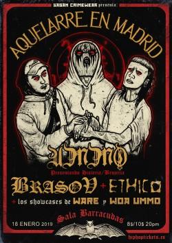 UMMO, Brasov & Ethico en Madrid