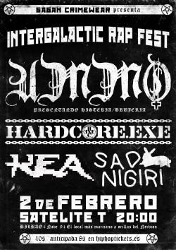 UMMO, Hardcore.exe, Sad Nigiri & Kea en Bilbao