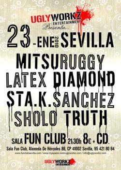 Uglyworkz en Fun Club (SVL) en Sevilla