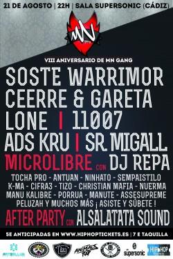 VIII Aniversario MN Gang en Cádiz