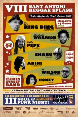 VIII Sant Antoni Reggae Splash en Barcelona