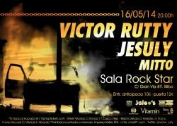 Victor Rutty, Jesuly y Mitto en Bilbao