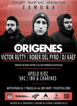 Victor Rutty, Rober del pyro, Dj Kaef, Apolo kidz y más en Zamora