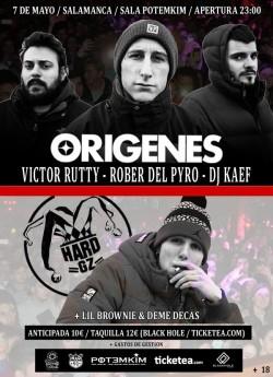 Victor Rutty, Rober del pyro, Dj Kaef, Lil Brownie y más en Salamanca