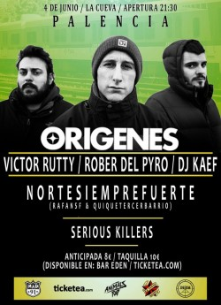 Victor Rutty, Rober del pyro, Dj Kaef, Nortesiemprefuerte y más en Palencia