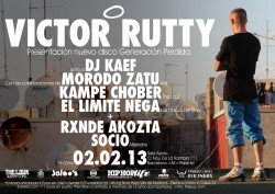 """Victor Rutty presenta """"Generación Perdida"""" en Barcelona"""