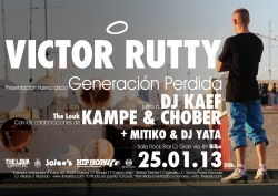 """Victor Rutty presenta """"Generación Perdida"""" en Bilbao"""