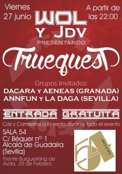 "Wol presenta ""TruequesT"" en Alcala De Guadaira"