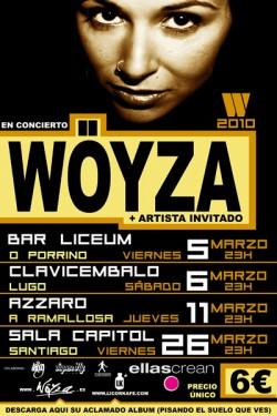 w yza en concierto en sala capitol en santiago de On conciertos santiago de compostela
