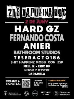 Xapulina Roc 2018 en La Palma de Cervelló