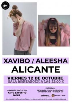 Xavibo y Aleesha en Alicante