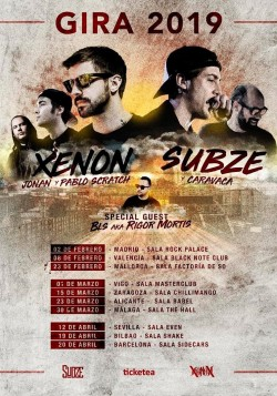 Xenon y Subze en Zaragoza