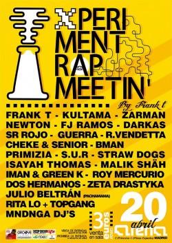 Xperiment Rap meetin' en Madrid