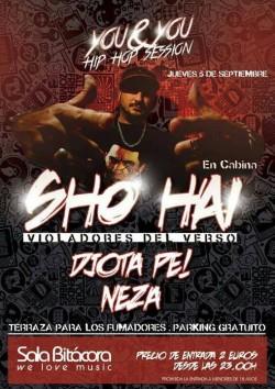 You & You Hip Hop Session con Sho Hai en Valladolid