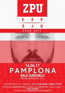 """ZPU presenta """"Espejo"""" en Pamplona"""