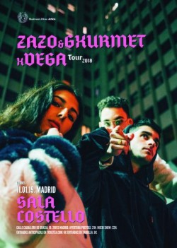 Zako, Gxurmet y Vega en Madrid