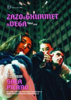 Zako, Gxurmet y Vega en Toledo