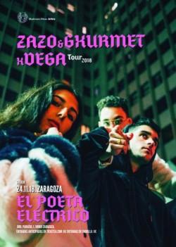 Zako, Gxurmet y Vega en Zaragoza