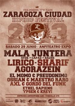 Zaragoza Ciudad Hip Hop Festival 2013 en Zaragoza