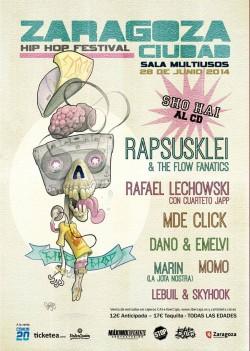 Zaragoza Ciudad Hip Hop Festival 2014 en Zaragoza