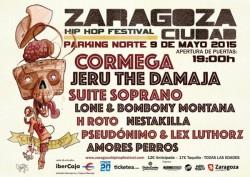 Zaragoza Ciudad Hip Hop Festival 2015 en Zaragoza