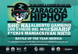 Zaragoza Hip Hop 2012 en Zaragoza