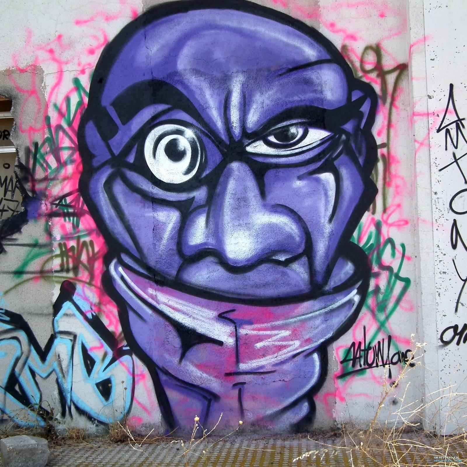 Graffiti Reina