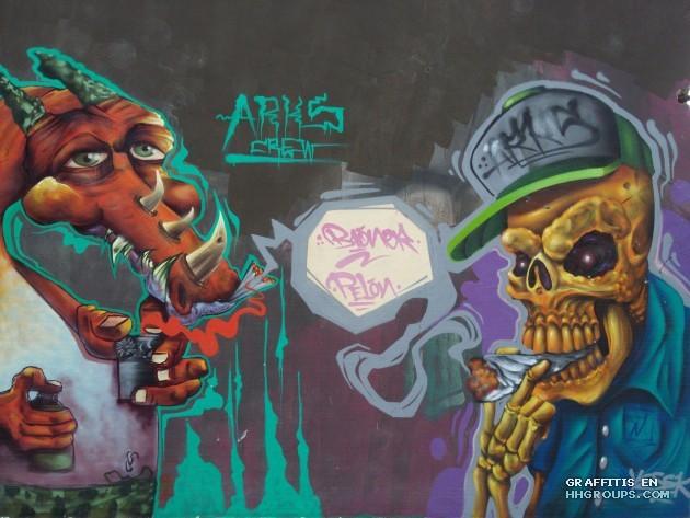 Arks crew en Hidalgo