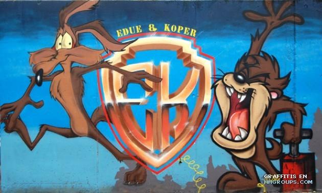 Edue y Koper en Gava (Barcelona)