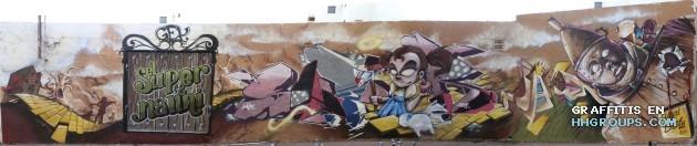 El super y Nauni69 en El Ejido (Almería)