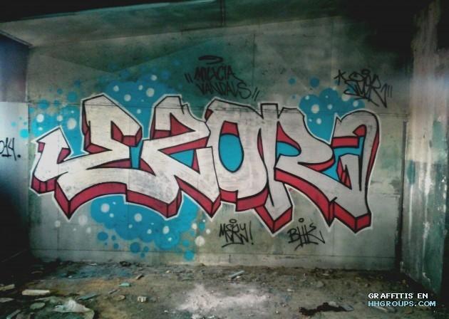 Graffiti de ezor en daganzo de arriba madrid subido el s bado 24 de enero del 2015 a las 19 30 - Daganzo de arriba ...
