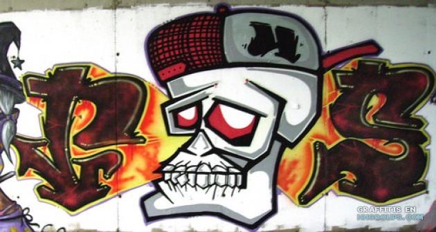 graffiti de fungus en lugar desconocido subido el