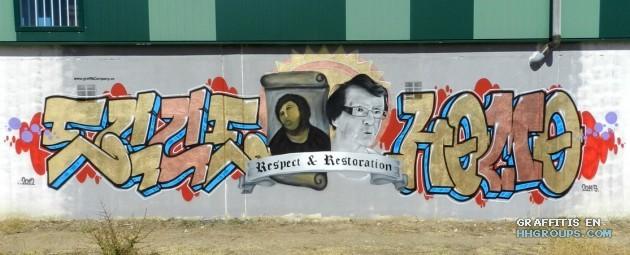 Graffiti company en Segovia (Lugo)