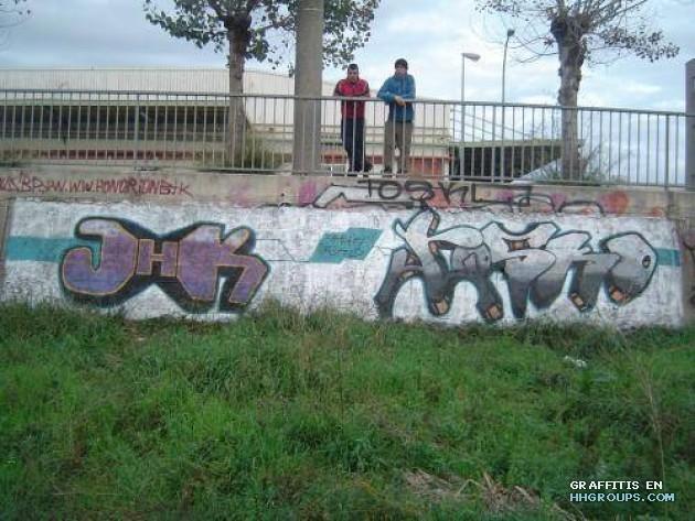 Jheak y Tosko en Barcelona