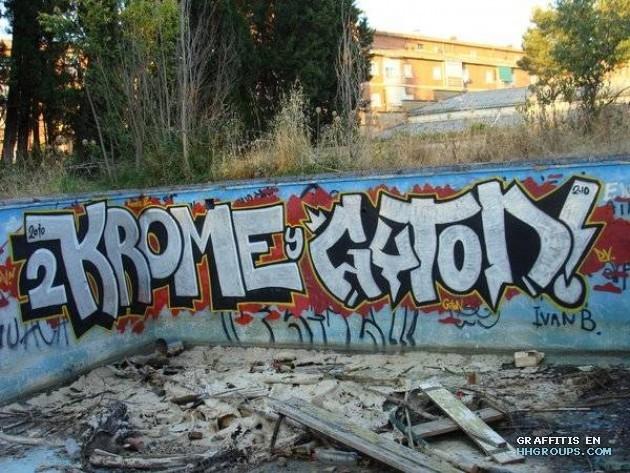 Krome2 giton en lugar desconocido