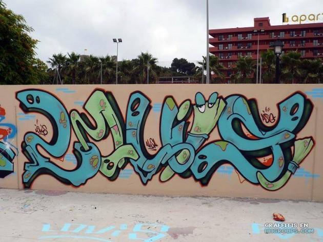 Louis en Málaga