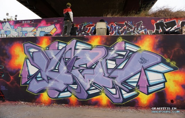 Mr. Kies en Elche (Alicante)