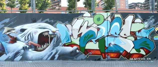 Mr. Kies en Mislata (Valencia)